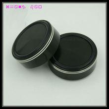 Free ship 4pcs black G58 Aluminum feet for amp /speaker (with Rubber ring) D:58mm H:22mm