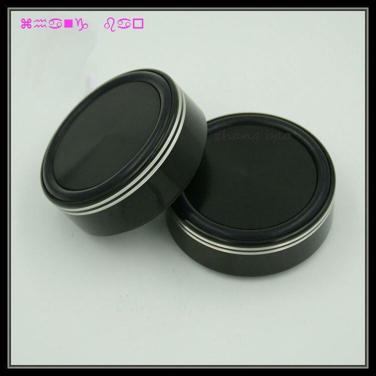 Livraison gratuite 4 pièces noir G58 pieds En Aluminium pour ampli/enceintes (avec l'anneau En Caoutchouc) D: 58mm H: 22mm