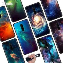 Star Space Moon Black Soft Case for Oneplus 7 Pro 7 6T 6 Silicone TPU Phone Cases Cover Coque Shell