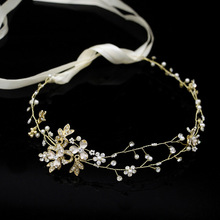 wedding tiara dress hair the bride bridesmaid accessories and crowns hoop H051