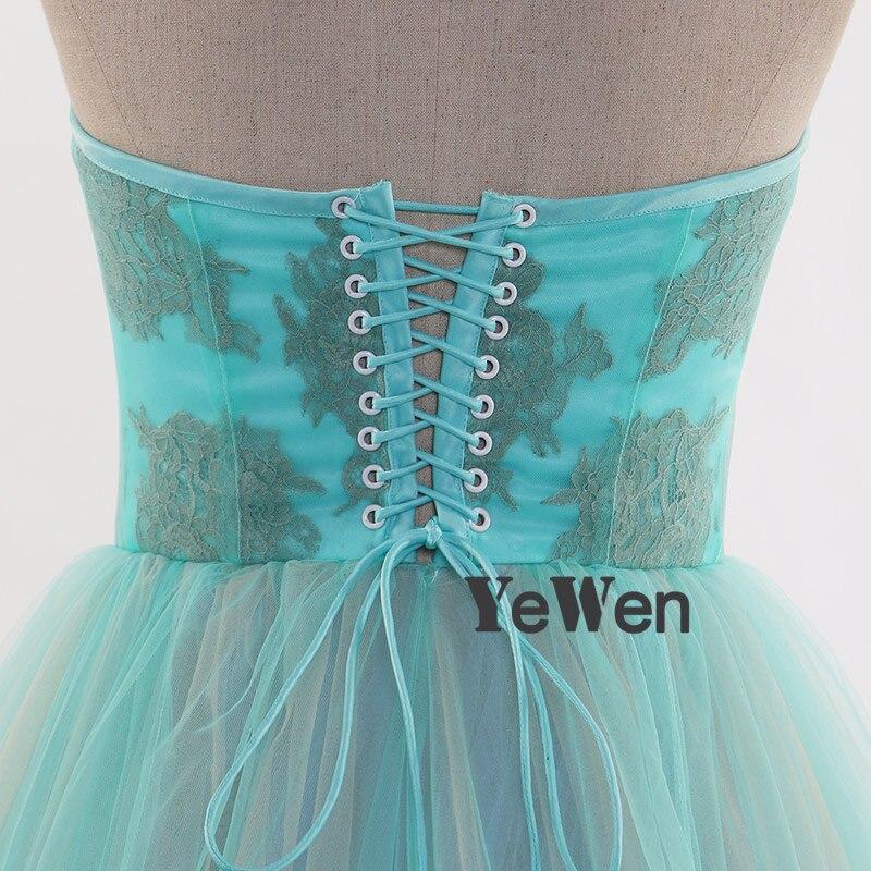 Élégant robe de soirée avec coloré longue Train robe formelle Tulle avant fente maternité photographie robe 2019 YEWEN Photo Shoot - 5