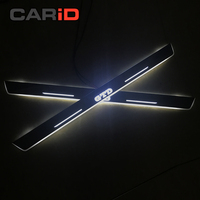 CARiD LED Car Scuff Plate Trim Pedal Door Sill Pathway Moving Welcome Light For VW Volkswagen Golf 7 GTD 2014 2016 Accessories