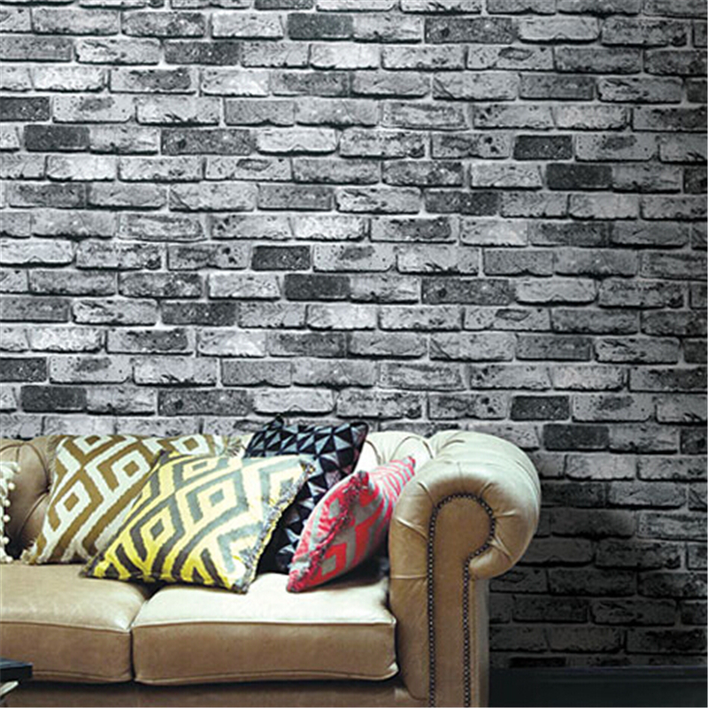 beibehangShabby Brick Vinyl Wallpaper roll Brick Stone Realistic  papel de parede for home background wall paper for walls 3 d 3d brick wall paper roll grey non woven wallpaper home decor retro stone wallpaper for walls papel pintado vintag