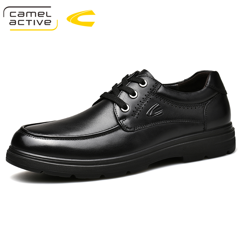 Camel Active Brand New Gorgeous Mens Wedding Loafers Genuine Leather With Pigskin Leather Male Party Business Casual Shoes-in Oxfords from Shoes    1