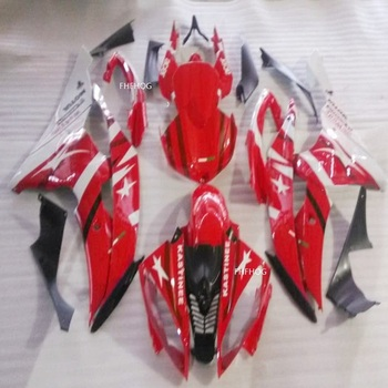 Moto Full Fairings Kit For Yamaha YZF R6 2008-2014 2009 2010 2011 2012 2013 YZF R6 Black Red White ABS injection parts