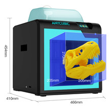 Anycubic 4MAX Pro 3D Printer Ukuran 270X205X205 Mm Formax Pro 3.5 Inci Layar Sentuh FDM 3D Printer Kit Impresora 3D Drucker(China)
