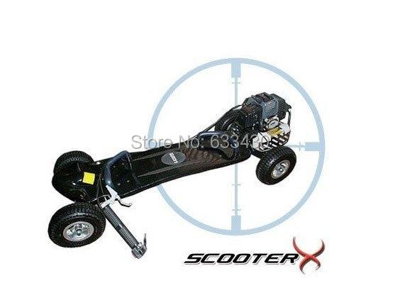 49cc газовый скейтборд, бензиновый скутер скейтборд вес нетто 20kgs от UPS в Европу включены таможенные сборы