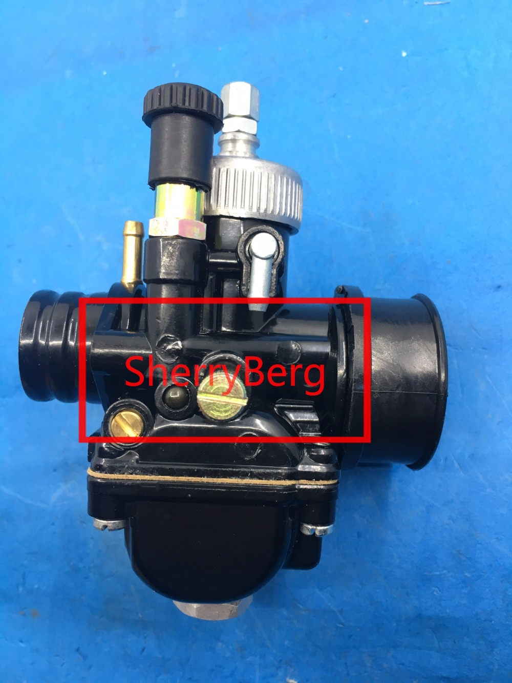 купить sherryberg PHBG DS Black 19mm Racing Carburetor Carb Dellorto manual choke mopeds scooter Carburettor по цене 2832.78 рублей