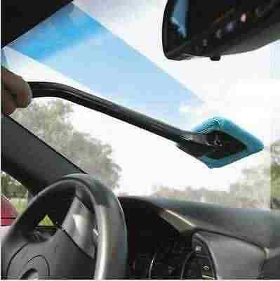 Микрофибра Очиститель окон щетка для мытья автомобиля пыль уход за автомобилем