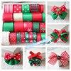 24Yards High Quality Colorful Printed Grosgrain Ribbons Mixed Organza Satin Grosgrain Ribbon Set Kids DIY Hairbow