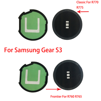 For Samsung Gear S3 Classic R770 R775 / Frontier R760 R765 Watch Glass Battery Cover Lens Rear Housing Back Case Lens+Adhesive