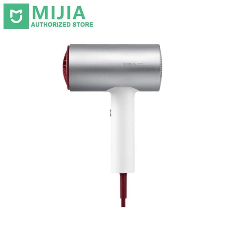 Оригинальный Xiaomi Soocare Soocas H3 аниона фен Алюминий сплава тела 1800 Вт воздуха на выходе анти-горячий инновационный дизайн утечки