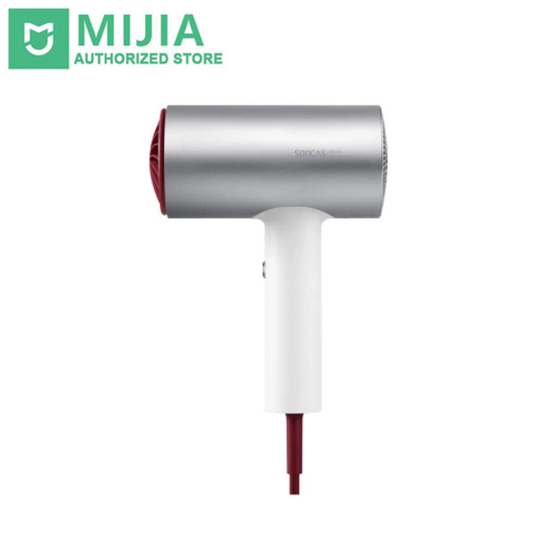 Original Xiaomi Soocare Soocas H3 Anion HairDryer Aluminum Alloy Body 1800W Air Outlet Anti-Hot Innovative Diversion Design