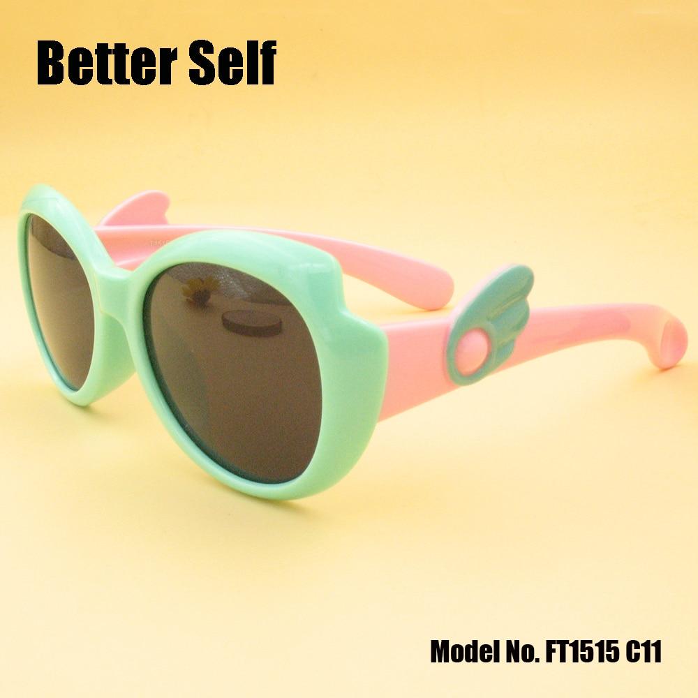 Solbriller til børn Wing Temple Kid Polariserede vintage briller - Beklædningstilbehør - Foto 5