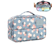 Portable Lady Travel Drawer Dividers Closet Organizers Bra Underwear Storage Bag Container For Women Gril
