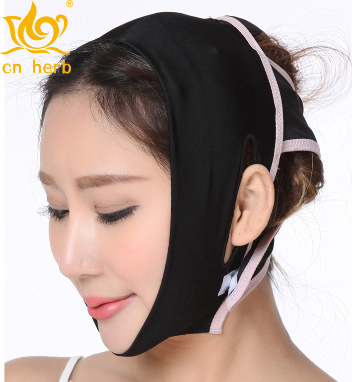 Galleria fotografica Cn Herb Potent Thin Face With Compact Thin Face Jaw Tool Face Shape Correction Thin Face Bandage