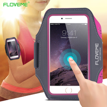 FLOVEME For iPhone 7 6 6s Case Sport Pouch 4.7 inch Universal Waterproof Outdoor Running Arm Band Case For iPhone 6 6s 7 Bag