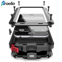 Proelio Heavy Duty Case Aluminum Metal Shockproof Cover For Samsung Galaxy S8 S7 S6 Edge Note