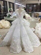 vestido de noiva Real Photos luxury Wedding dress With  Appliques robe de mariage  custom made vintage wedding dress