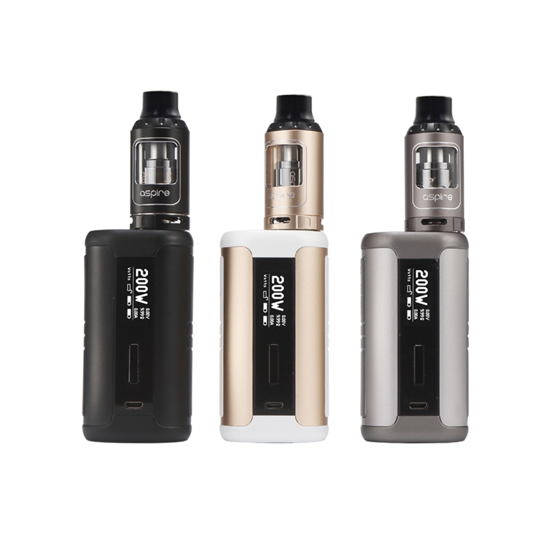 E Cigarette Aspire Speeder 200W TC Kit with Athos Tank 4ml Atomizer Tank Vaporizer Dense Clouds 200W Speeder Box MOD Vape Kit fruit mango flavor e liquid for e cigarette by hangsen
