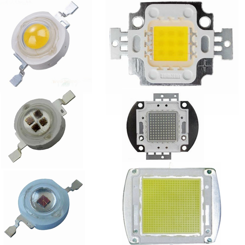 High Power LED Chip 1W 3W 5W 10W 20W 30W 50W 100W 200W 300W 500W Cold White Natural White Warm White Red Blue Green IR LEDs