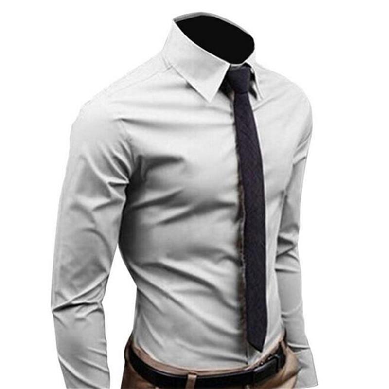 2017 marca de moda para hombre camisa de manga larga - Marcas de ropa casual ...