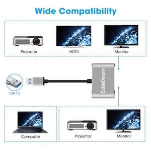 Image 4 - USB3.0 إلى HDMI DVI محول HD 1080P فيديو الرسومات محول ويندوز 7/8/10 فقط ، ودعم HDMI DVI العرض