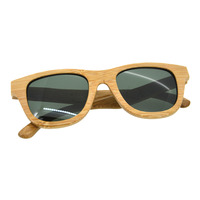 Casual Men Sunglasses ZS G001A Fashionable Wooden Frame PC Lens Outdoor UV400 Protective Eyewear Sunglasses For