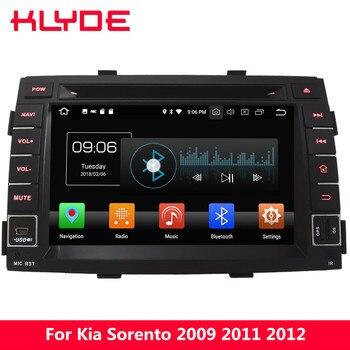 "KLYDE 7"" Octa Core PX5 4G WIFI Android 8.0 4GB RAM 32GB ROM Car DVD Multimedia Player Radio Stereo GPS For Kia Sorento 2009-2012"