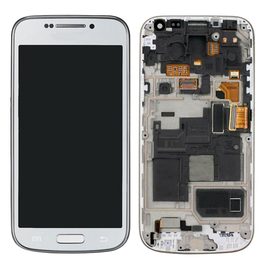 Zerosky AMOLED Screen For Samsung Galaxy S4 Mini Display LCD Touch Screen Digitizer Assembly with Frame Zerosky AMOLED Screen For Samsung Galaxy S4 Mini Display LCD Touch Screen Digitizer Assembly with Frame