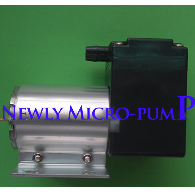 New Micro Pump DC DC12V Small Vacuum Aspirator Suction Pressure Diaphragm  Pump 24V