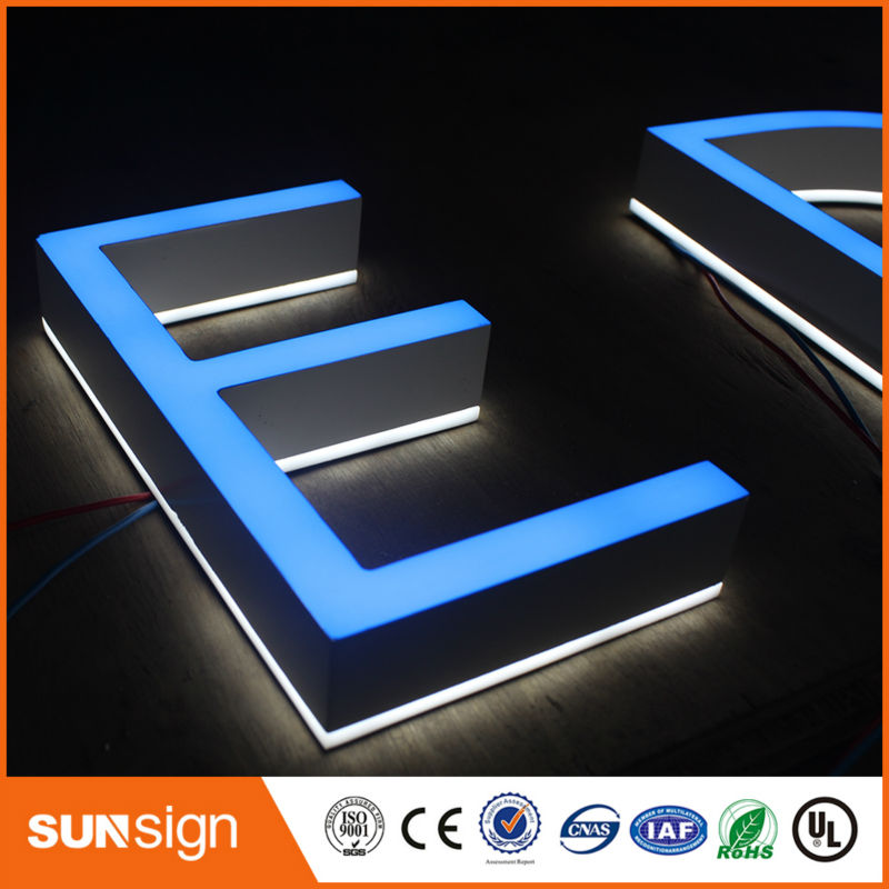 Well Design Indoor Changeable LED Embossing Acrylic Letter Sign