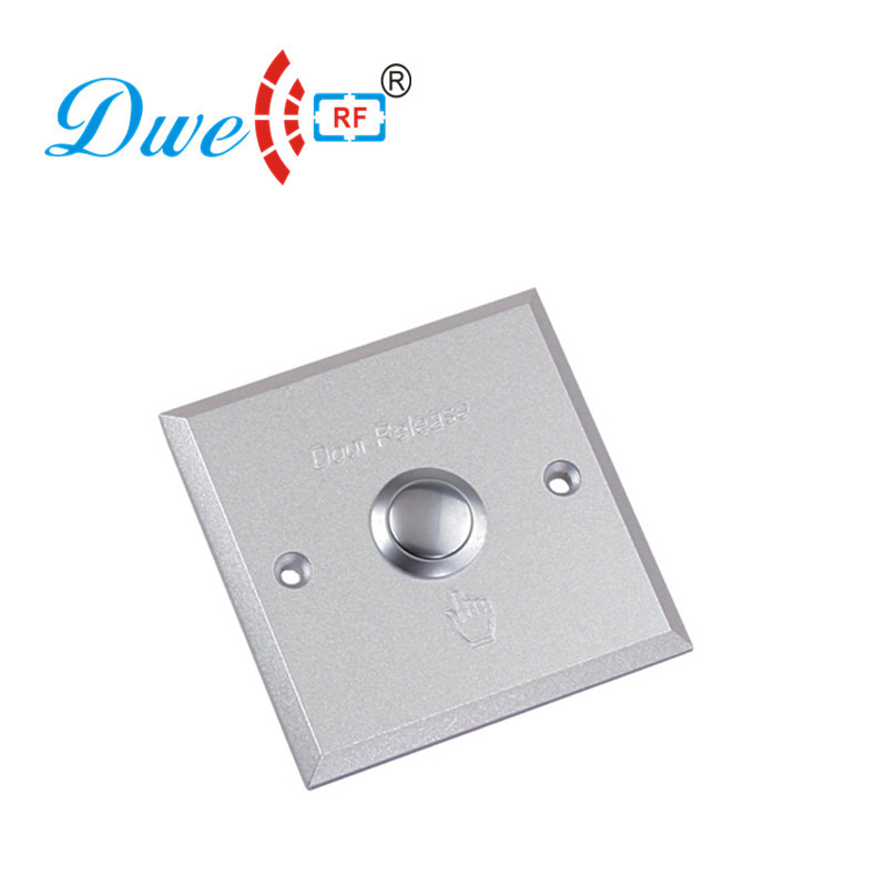 цена на DWE CC RF Aluminum alloy metal self locking push button switch with wire drawing finished