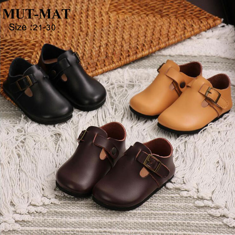 Children's Leather Shoes Boys And Girls Casual Small Shoes  Soft And Flexible Baby's Shoes High Wear Resistance