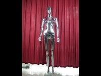 Прямая продажа с фабрики ABS пластик Женская хромированная одежда дисплей модель для витрины
