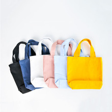Solid Color Canvas Vacuum Bags for Clothes Luggage Storage Shoe  Cosmetic Cable Organizer Toys Bag Packages Make-up Hand