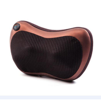 shiatsu seat Massager for Car Homemassagem for body acupuntura Neck Massage Electronic Kneading Massage Pillow