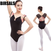Free Shipping Women Gymnastic Dance Leotard Costume CS0309 Ladies Mesh Cap Cheap Ballet Dance Leotards Girls
