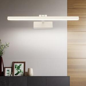 Image 5 - Moderno led banheiro vaidade espelho de parede luz montado armário industrial quarto lâmpada cabeceira maquiagem lâmpada parede luminárias