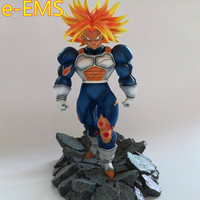 Dragon Ball Z Trunks War damaged Ver Resin Statue Decoration Action Figure Collection Model Toy G2272