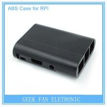 5pcs Raspberry Pi 2 ABS Black Case Cover Raspberry Pi Model B Plus Stripe Shell Box for Raspberry Pi 3 B201B