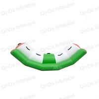 Весело водные виды спорта надувной бассейн, качели Игрушечные лошадки герметичный рокер надувные воды seasaw воды ковылять слайд