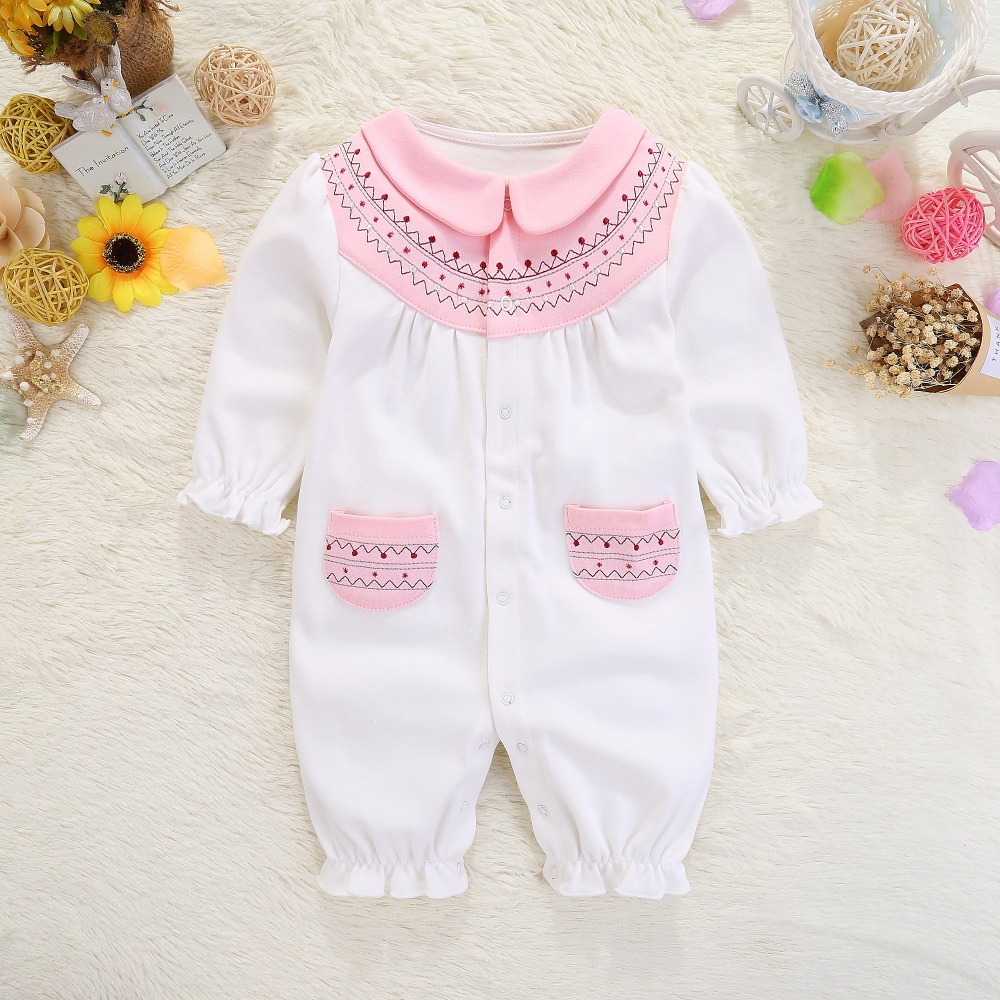 new born baby clothes for girl lucky child floral princess jumpsuit baby girls clothing set 2017 bodysuit roupas infantis menina 2017 new kids clothes girls kitty clothing minnie sets baby cotton costumes children girl pajamas set roupas conjunto menina