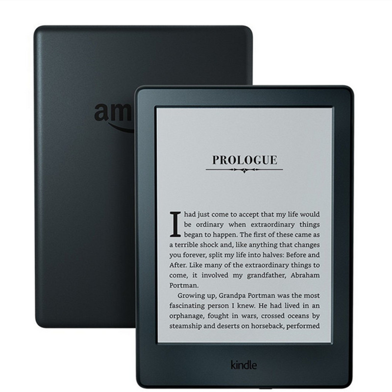 Kindle 8 geração 2016 modelo ebook e livro eink e-ink leitor 6 polegada tela de toque wifi ereader melhor do que kobo