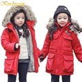 Kindstraum 2017 New Winter Children Warm Cotton Jacket for Boys & Girls Brand Quality Thick Coat Kids Casual Sport Outwear,MC312