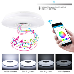 Image 4 - Smart Led Ceiling Light RGB Dimmable 36W 60W APP Control Bluetooth & Music Modern Led Ceiling Lamp Living Room Bedroom 220v