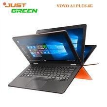 Con Teclado! 4G lte y Wifi Portátil de 11.6 pulgadas 1920*1080 En tel z8300 Quad-core 4 GB 64 GB BT4.0 Win10 VOYO A1 PLUS