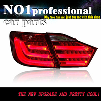 OUMIAO Car taillight for Toyota Camry Taillights 2012 2013 2014 Camry V50 LED Tail Light Aurion Rear Lamp DRL+Brake+Park+Signal
