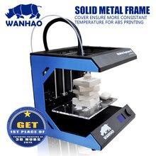Промышленные 3D Принтера WANHAO D5S Мини, цифровой DIY Сублимации 3d-принтер, Металлический Каркас комплект с большой размер сборки 205*305*305 мм