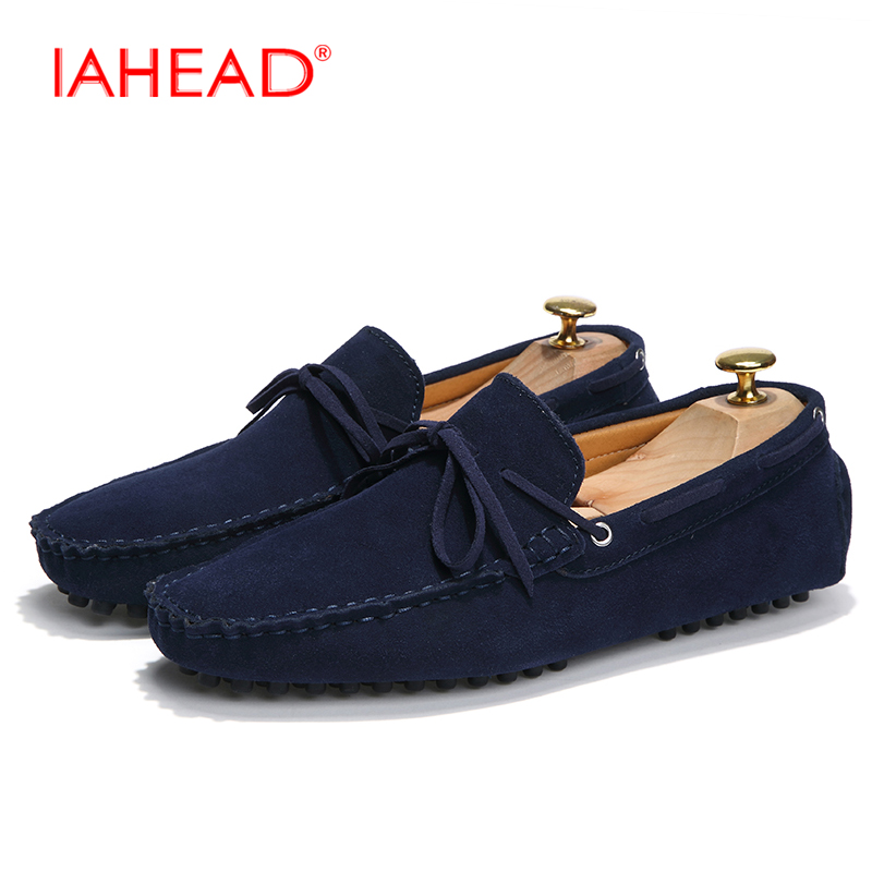 New Fashion Autumn Spring Men Canvas Shoes Loafers Real Leather Boat Shoes Driving Male Flats Loafers Casual Shoes MQ518 new 2015 men canvas shoes casual men flats shoes casual spring autumn fashion men flats shoes black brown fashion low style